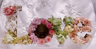 #プリザーブドフラワー名古屋#手作りウェディング#結婚式演出#プレ花嫁#手作りプレゼント#フラワーレッスン名古屋