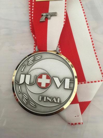 Anneliese z'Rotz JU + VE Final 2018 Thun Pistolensektion Grosswangen