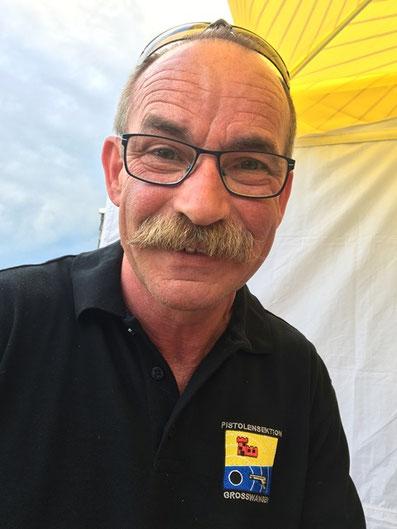 René Koller, Festsieger des Jubiläumsschiessens 70 Jahre Pistolensektion Grosswangen.