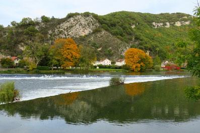 Das Velofahren entlang des Doubs gefällt ganz besonders.