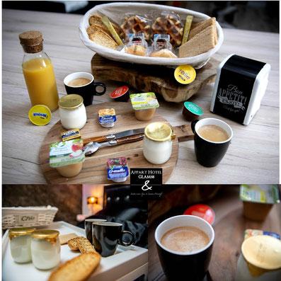café , thé et chocolat la table d'hote du glam88 - séjour vosgien