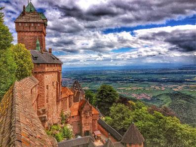 visite vacances Alsace Vosges Château du Haut-Kœnigsbourg
