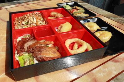 Bento-Box in verschiedenen Variationen für je € 9,50