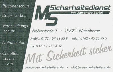MS Sicherheitsdienst