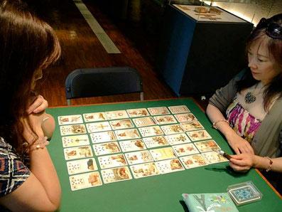 フランスイッシ―カードミュージアムでのルノルマンカードリーディングセッション