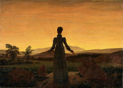 C.D. Friedrich: Frau in der Morgensonne