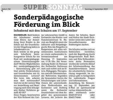 Quelle: Super Sonntag vom 08.09.2019 - Seite 6 - Ausgabe N2