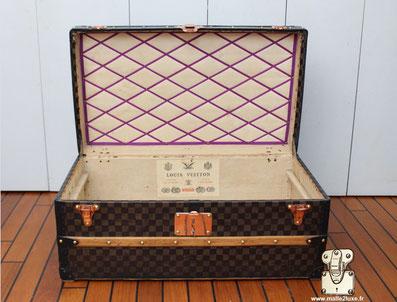 superbe Malle Louis Vuitton ancienne