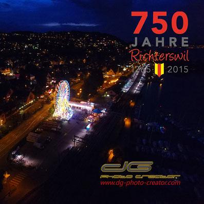 Luftaufnahmen Schweiz Riesenrad