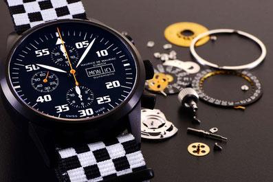 produktfotografie zürich Maurice De Mauriac Autimatic Uhr