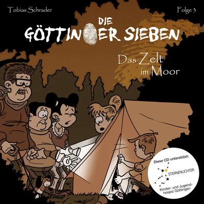 CD-Cover Die Göttinger Sieben - Das Zelt im Moor