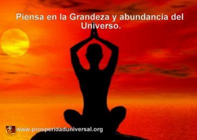EL SECRETO DE LA LEY DE ATRACCIÓN - RELAJACIÓN - PIENSA EN LA GRANDEZA Y ABUNDANCIA DEL UNIVERSO-  PROSPERIDAD UNIVERSAL