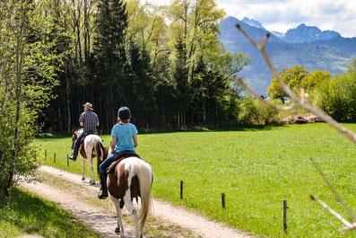 Reiten im Chiemgau