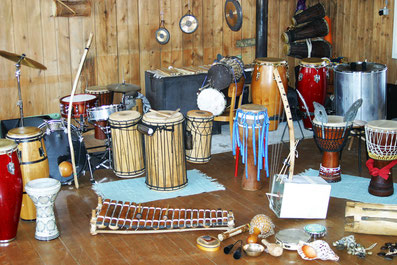 Trommel Kurs Unterricht Djembe Conga Basstrommeln  Percussion