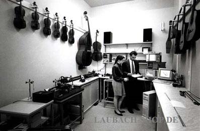 струны Pirastro - тестирование звуковых характеристик в лаборатории