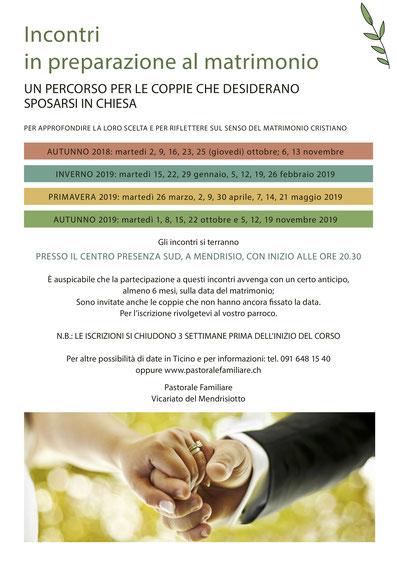 incontri cristiani e consigli di matrimonio