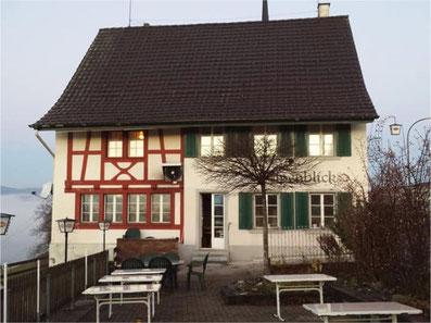 Vorübergehend geschlossen: das Restaurant Alpenblick