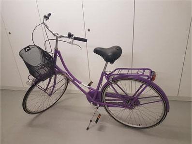 Eines der vielen Angebote auf Bunts' Marktplatz: Occasions-Fahrrad
