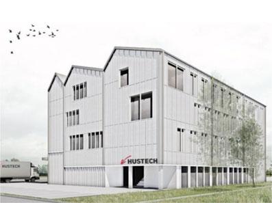 So wird's aussehen: Neues Geschäftshaus der Hustech in Bubikon (zvg)
