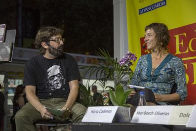 Foto de @LaSetmana (D'esquerra a dreta: Sergi Viciana i Núria Cadenes)