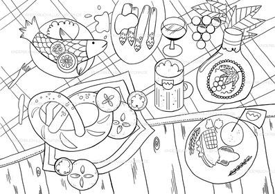 kinderbuch illustration malbuch