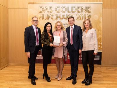 v.l.: Thomas Wolfsegger (Tagen in Österreich), Claudia Pauzenberger, Margarete Durstberger, Landesrat Markus Achleitner, Elfi Schenkel (Tagen in Österreich)