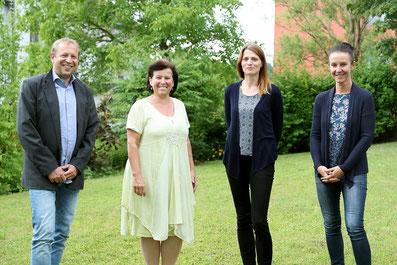 Gernot Koren, Birgit Gerstorfer, Manuela Ströbitzer, Raphaela Just - Foto: Land OÖ