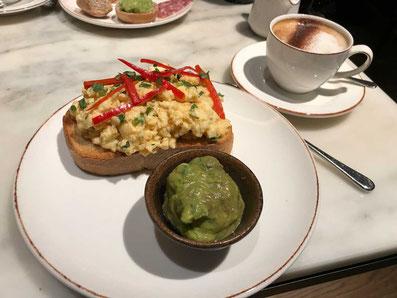 Mexikanisches Frühstück im 5 Sterne Hotel Radisson Blu in London