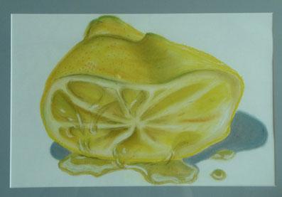 Zitrone 50x70 cm