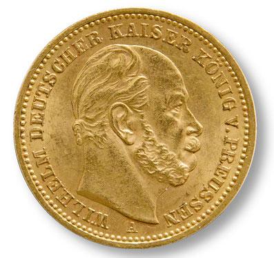 20 Mark Goldmünze Wilhelm I. von Preussen