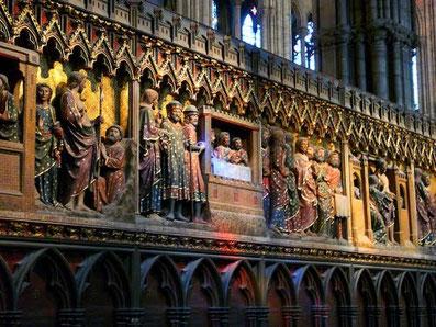 Clôture du choeur de Notre-Dame de Paris