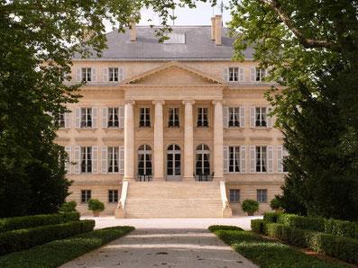 Chateau Margaux im Medoc
