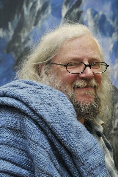 Josef Taucher im Mai 2008, Foto © Franz Sattler