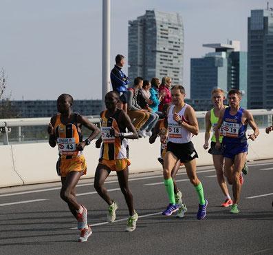 Der Marathon ist immer eine spezielle Herausforderung!