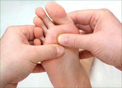 Der Fuß ist der Microkosmos des Körpers