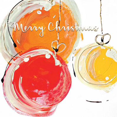 Spenden Weihnachtskarte für die Stiftung Theodora