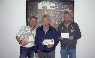 1.Sieger:Wolfgang Gövert, 2.Sieger: Willi Thyen, 3.Sieger: Hermann Zumbeel