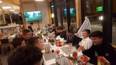 Weihnachtsfeier der Golf Jugend Bayreuth