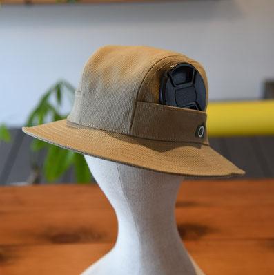 カメラ ハット 帽子