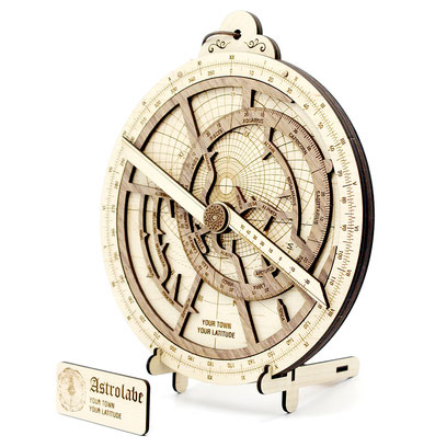Bausatz 'Astrolabium Deluxe' - Ein echter Hingucker!