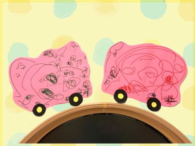 車のお絵描き