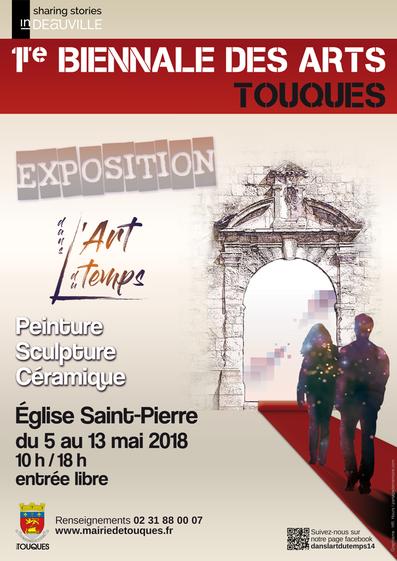 Chris Jobert artiste sculpteur Honfleur exposition Touques Deauville