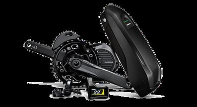 Der Shimano E8000 Mittelmotor ist speziell für e-Mountainbikes geeignet