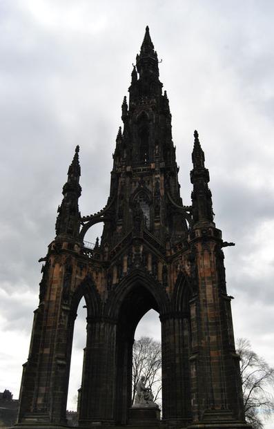 24 Stunden in Edinburgh - ein Stadtrundgang auf eigene Faust - Scott Monument