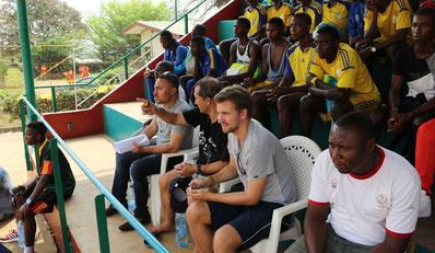 Scouting beim Tournoi de Limbe (Kamerun) 2016