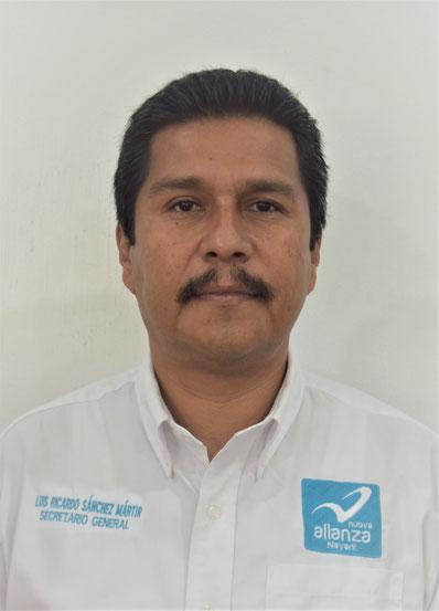 SECRETARIO GENERAL: LUIS RICARDO SANCHEZ MARTIR