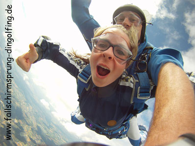 Fallschirmspringen München mit Fallschirmsprung-dingolfing