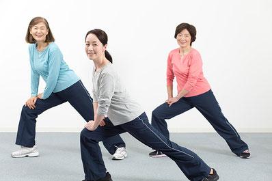 健康自体重トレーニング教室画像
