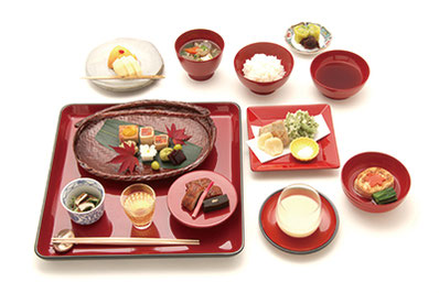 2010年のAPECの際に提供された特製精進料理コースが、特別に今回のCOTONOWA企画限定で復活します。(写真はイメージです)