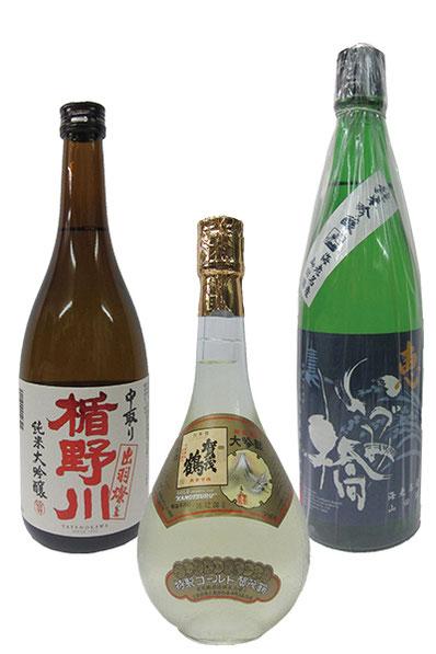 毎月さまざまな蔵元渾身の酒数種を取り寄せお楽しみいただきます。